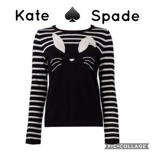 NWT Kate Spade Bunny Sweater